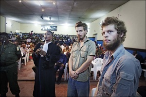 Jailed Norwegians in Congo. Photo: Jørgen Braastad.