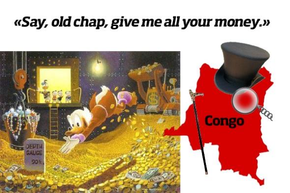Scrooge McDuck vs. Congo